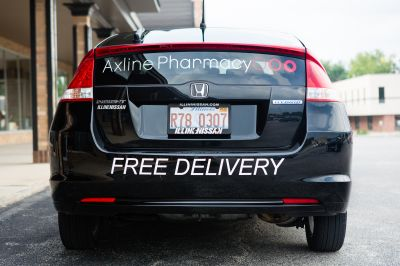 We deliver prescriptions to local residents.